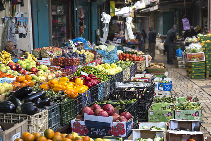 The Turkish bazaar in Akko