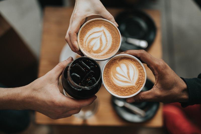 Coffee in Akko's Allies